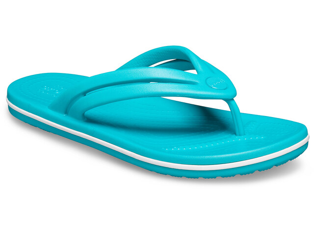Crocs Crocband Sandalias de Piel Mujer, latigo bay